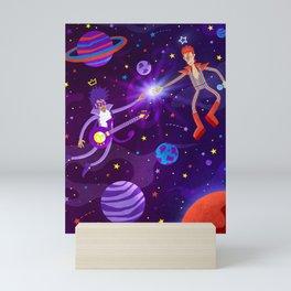 Bowie Reunited Mini Art Print