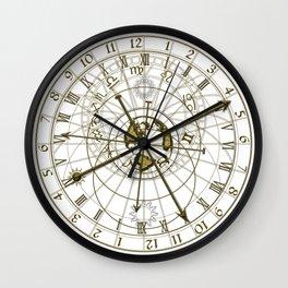 metal astronomical clock Wall Clock