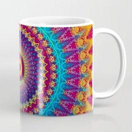 Fire and Ice Mandala Coffee Mug