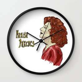 Marisa Paredes Portrait Wall Clock