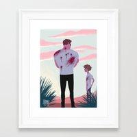 terminator Framed Art Prints featuring TERMINATOR by JohannaTheMad