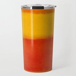 1956 Orange and Yellow by Mark Rothko Travel Mug