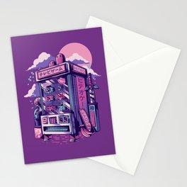 Retro gaming machine Stationery Cards