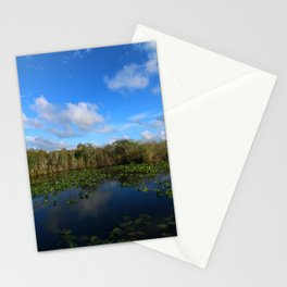Blue Hour In The Everglades Stationery Cards