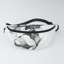 Ball Gagged Fanny Pack
