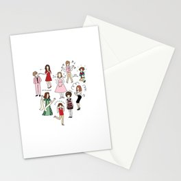 Kristen Wiig Characters Stationery Cards