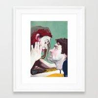 eternal sunshine Framed Art Prints featuring Eternal Sunshine by Tayo