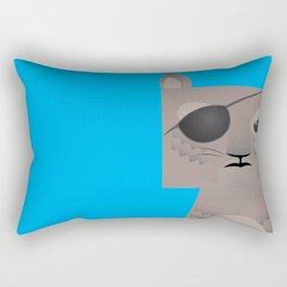Deadly Squirrel Rectangular Pillow
