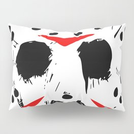 Classic Horror Movie mask of Jason Voorhees  Pillow Sham