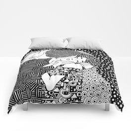 Gustav Klimt - The kiss Comforters