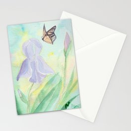 Once upon a time, in a watercolor garden Stationery Cards