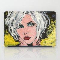 blondie iPad Cases featuring Blondie by Matt Pecson