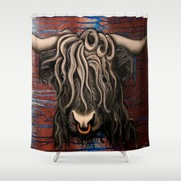 Highland Cow 2 Shower Curtain