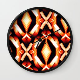Tunnel Lights Pattern Wall Clock