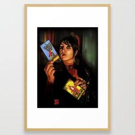 The Fortelling Framed Art Print