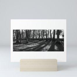 Railway Trees Mini Art Print