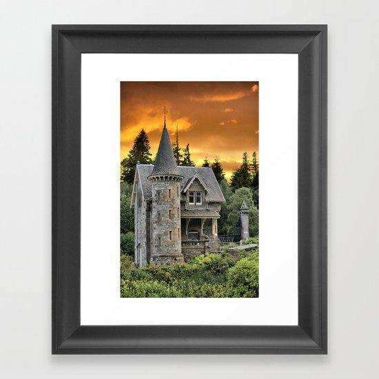 Fairtytale Gatelodge Framed Art Print