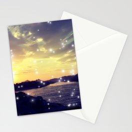 Dazzle Sunset Stationery Cards