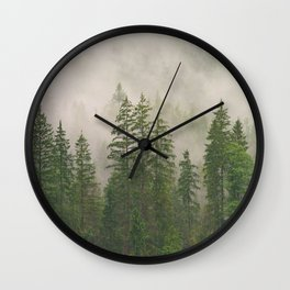 Morning Fog Wall Clock