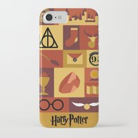 harry potter iPhone & iPod Cases featuring Potter by Polvo