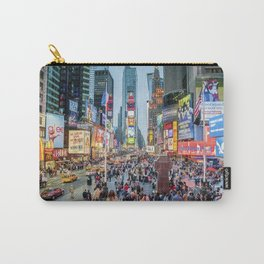 Times Square Tourists Carry-All Pouch