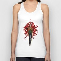 rogue Tank Tops featuring Rogue by DiegoC