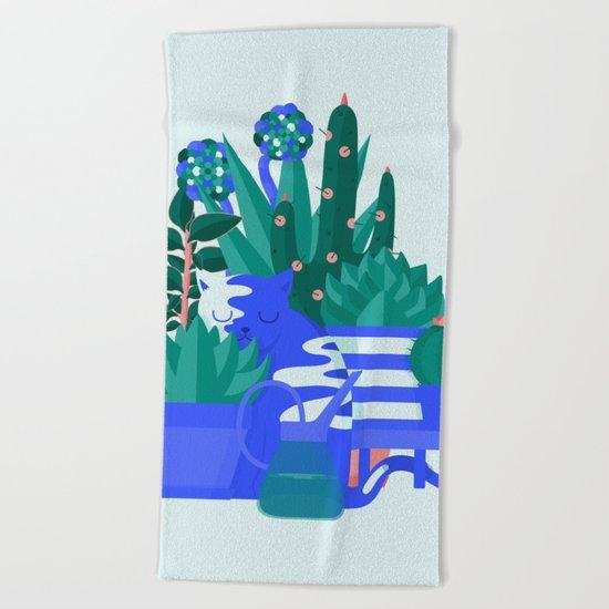 Comfort Zone Beach Towel