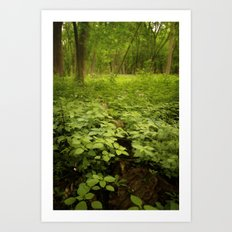 the soil underneath Art Print