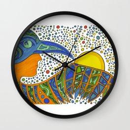 Bird Medicine 2 - series  Wall Clock