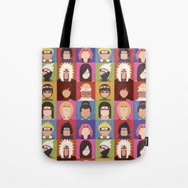 Anime Characters Tote Bag