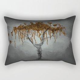 Lonely World Rectangular Pillow