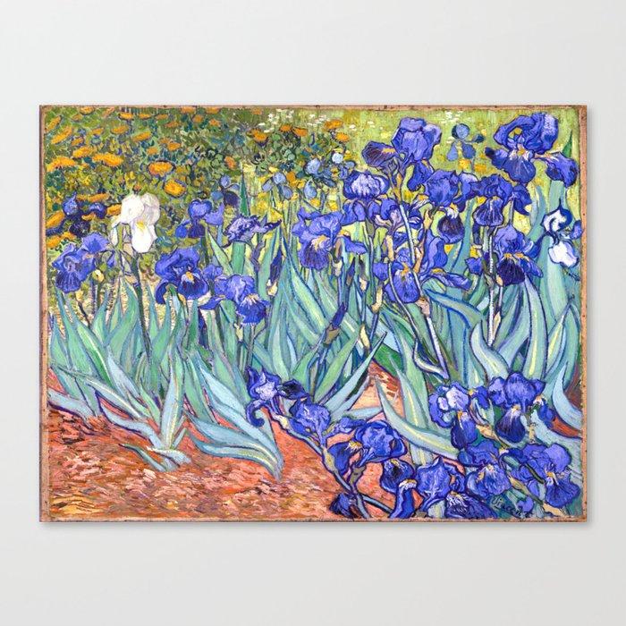 Vincent Van Gogh Irises Leinwanddruck