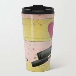 bicycle in Amsterdam Travel Mug