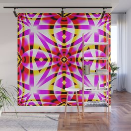 Candy Stripe Abstract Wall Mural