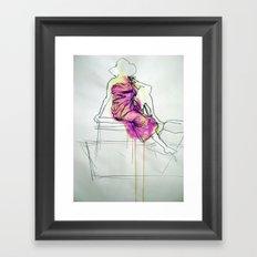 Sarong II Framed Art Print