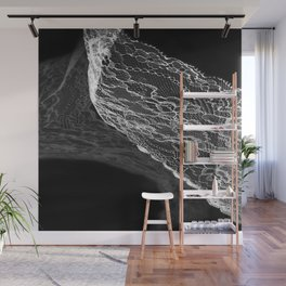 White lace 2 Wall Mural