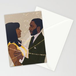 Umbrella Academy - Allison and Raymond Stationery Cards