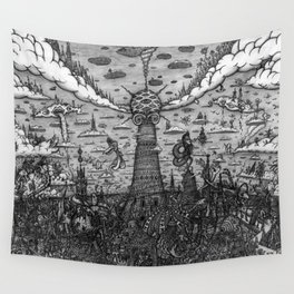Tower of Babel Wall Tapestry