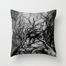 fears Throw Pillow