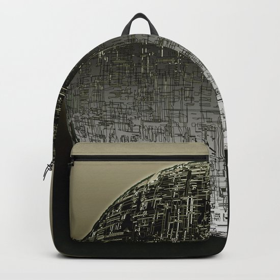 Planetary Mood 4 / Divergence 08-02-17 Backpack