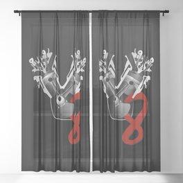 V8 Sheer Curtain