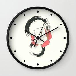 Enso Buddha Wall Clock