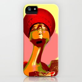 Vintage: The Zulu Hat iPhone Case