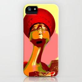 Vintage: The Zulu Hat iPhone Case