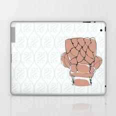 Pink Chair Laptop & iPad Skin