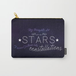 My Thoughts Are Stars - TFIOS Carry-All Pouch