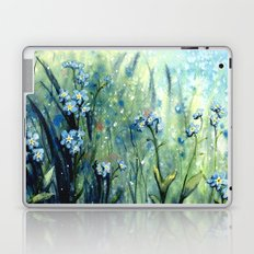 Forget me not flowers Laptop & iPad Skin