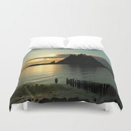 Waiting For The Night Duvet Cover