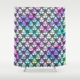 Frowning owls Shower Curtain