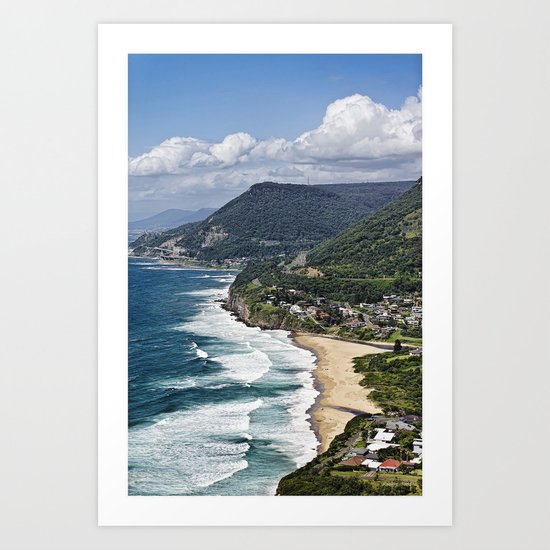 the great aussie south coast  Art Print